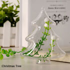 Christmas Ornament Tree Cute Gift Candy Ball Box Transparent Plastic Clear Craft