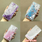 Transparent Liquid Glitter Quicksand Soft Rubber Gel Case Cover For Meizu Phones