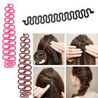 Simple Hair Braiding Braider Tool Roller Holder Clip Plait hair Twist Styling