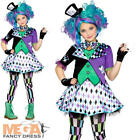 Mad Hatter Girls Fancy Dress World Book Day Fairytale Kids Childrens Costume New
