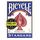 Bicycle Standard Playing Cards Red & Blue Decks 1, 2, 4 or 6 Packs Made in USA