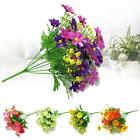 1 Bunch Home Indoor Outdoor Decor Party Wedding Floral Fake Artificial Flowers#