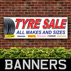 Tyres Sale All Make & Sizes PVC Banner Garage Service Outdoor Signs (BANPN00264)