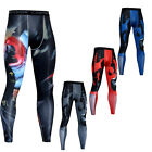 Men's Compression Running Tights Spandex Dri-fit Sportswear Athletic Long Pants