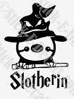 Funny Harry Potter Sloth Slotherin Slytherin Decal Sticker