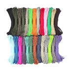 550 Paracord Parachute Cord Lanyard Mil Spec Type III 7 Strand Core New 100FT BK