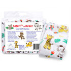 Rearz Safari Adult Baby Diapers - All Sizes - Bags of 12, cases of 36