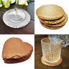 Rustic Hand Pained Slate Coasters Coffee Table Place Mats Drinks Coaster 4 x Set