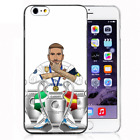 Soccer Player Real Madrid SR4 Silicone iPhone Cover case for iPhone Samsung