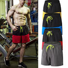 Mens Athletic Workout Running Soccer Shorts with Pockets Drawstring Gym Bottoms