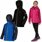 Regatta Luca IV 3-in-1 Kids Jacket Girls Boys Waterproof Fleece Inner Coat