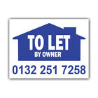 TO LET By Owner Correx Signs Custom Estate Agent Boards Property X 2(CORCP00006)