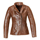 Triumph Motorcycles Women's Leather Barbour Jacket with D3O Armor MLLS17106 $399.95 USD on eBay