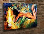 Extra Large Canvas Wall Art Print Picture Contemporary  Naked Woman LA4