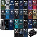 For Samsung Galaxy Note 8 Dual Layer Hybrid Holster Belt Stand Case NFL Teams