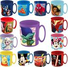 Disney Kinder MicroTasse 350ml Frozen Paw Patrol Cars Spiderman Winnie uvm.