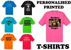 Personalised Custom Printed T-Shirt, Your Design, Custom Text, Custom Image