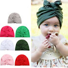 Lovely Unisex Baby Girls Infant Soft Hat with Bow Cap Hospital Newborn Beanie