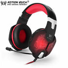 EACH G1000 PC Gaming Bass Stereo Headset Microphone LED Laptop Computer lot BN