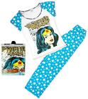 Womens Wonder Woman DC Comics T-Shirt Top Long Pyjamas Plus Sizes 8 to 22