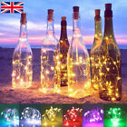 6 Pack 20 LED Cork Shape Starry Night Light Wine Bottle Lamp Valentine's Wedding