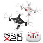 SYMA X20 Mini RC Quadcopter Steal Drone 2.4Ghz 4CH Altitude Hold Headless Mode