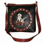 BETTY BOOP POCKETBOOK / PURSE #81 MESSENGER BAG LEG UP DESIGN BLACK $30.99 USD on eBay
