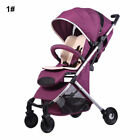 Baby Stroller Newborn Carriage Infants Travel Car Foldable Pram Pushchair Basket