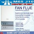 LPG or mains Gas Water Heater Multipoint fan flue vertical or horizontal option