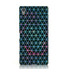 DYEFOR NEBULA TRIANGLE DESIGN 3 PHONE CASE COVER FOR SONY XPERIA