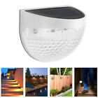6 LED Solar Power Light Sensor Wall Light Outdoor Garden Fence Waterproof Lamps