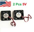 2 Pcs 5v 12v 24v 40mm Cooling Computer Fan 4010 40x40x10mm Dc 3d Printer 2-pin