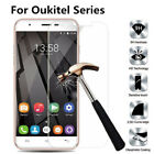 100% GENUINE TEMPERED GLASS FILM SCREEN PROTECTOR FOR OUKITEL VARIOUS MODELS