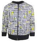 Boys Despicable Me Minions Yellow Bello Zipper Jacket Sweat Top 4 to 8 Years