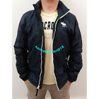 ABERCROMBIE & FITCH MENS CASUAL JACKET COAT NAVY SIZE M,L,XL A&F