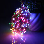 10m 100 Led Christmas Tree Fairy String Party Lights Lamp Usb Battery Operated