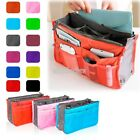 Travel Insert Handbag Women Organizer Purse Large liner Tidy Bag Pouch 12Colors!