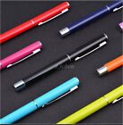 Stainless Steel Ball Point Pen Ballpoint Trim Stationery Office Business Pens