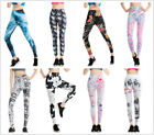 Women Yoga Workout Sports Leggings Fitness Pants Casual Gym Stretch Trousers GYM