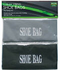 PACK OF 2 SHOE PROTECTOR DUST STORAGE DRAWSTRING BAGS FOR SHOES /TRAINERS-TRAVEL