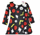 Girls HALLOWEEN Swing Dress Ages 2,3,4,5,6,7,8,9,10,11,12,13 NEW