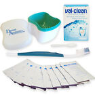 Val-Clean, Dental Bath & Silicone Toothbrush ~ Valplast Flexible Denture Cleaner
