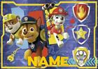 PAW PATROL PERSONALISED PLACE MAT DINNER MAT TABLE MAT