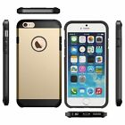 Strong Durable Slim Armor Shock Proof Case Cover for APPLE I PHONE  5 6 7 8 PLUS