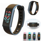 Bluetooth Smart Watch Color Screen Heart Rate Tracker For Samsung iPhone iOS LG