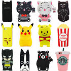 3D Cartoon Animal Silicone Soft Case Cover For Samsung S8P S8 S7 S6 S5 J710 J510
