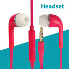3.5mm In-Ear Headset Earphone Stereo Control with Mic for Galaxy S6 MP3