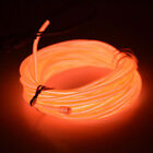 1-5M Battery Operated Luminescent Neon LED Lights Glow EL Wire String Strip Rope