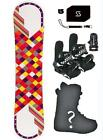 140 Joyride checkers Snowboard+Bindings+Boots+Stomp+Leash+Package +burton djoy3