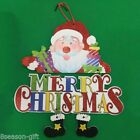 1PC  Originality Accessories Gift Christmas Ornament Merry Christmas sign GIFT